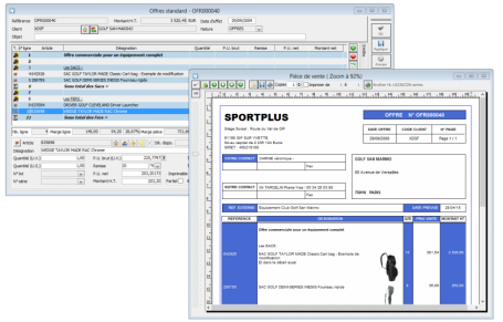 Logiciel de CRM, Logiciel gestion client prospects mailing, devis, offre commerciale, pipe commercial, suivi activité commerciale