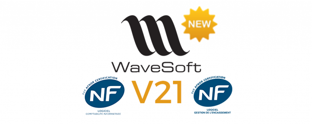 WaveSoft : sortie des versions V21 conformes à la loi anti-fraude TVA